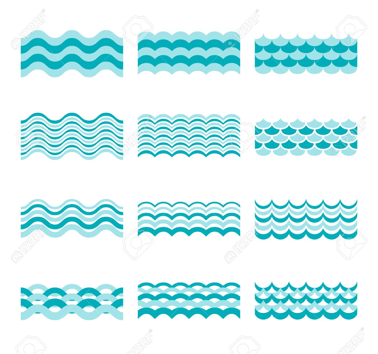 seamless blue wave vector patterns wave blue pattern sea and rh 123rf com wave vector in polar coordinates wave vector physics