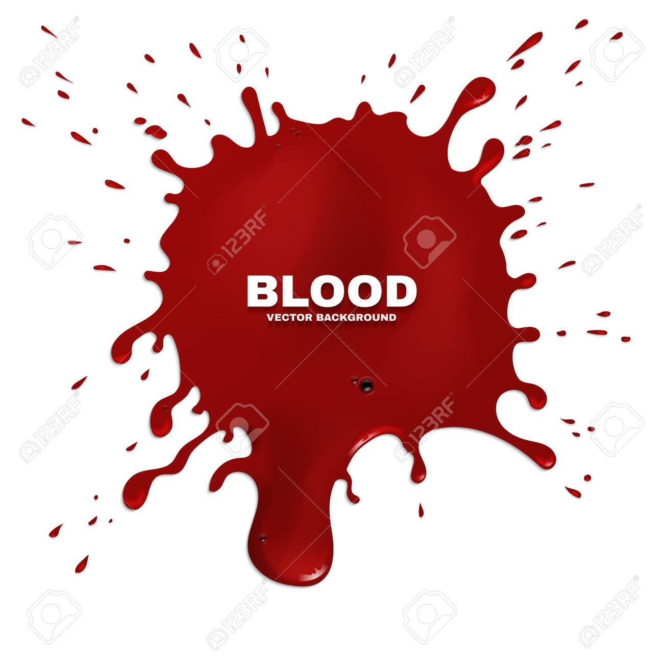 red blood splatter vector grunge background stain of paint rh 123rf com blood spatter vector blood splatter vector images