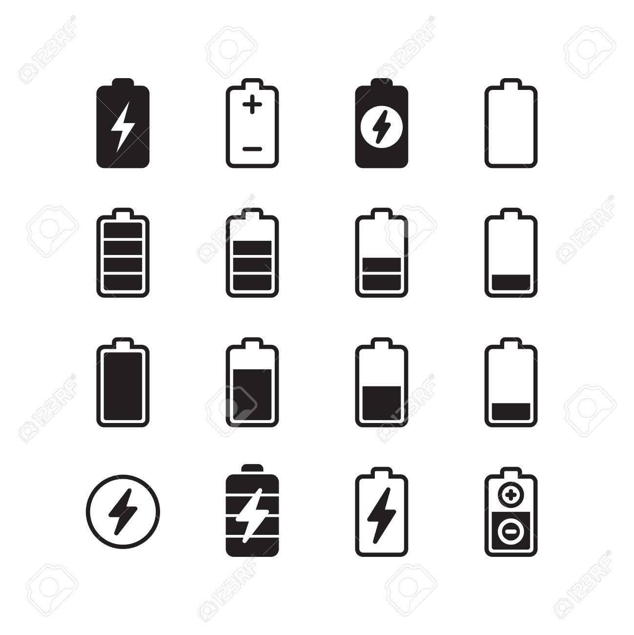 Tolle Elektrisches Symbol Der Batterie Galerie - Elektrische ...