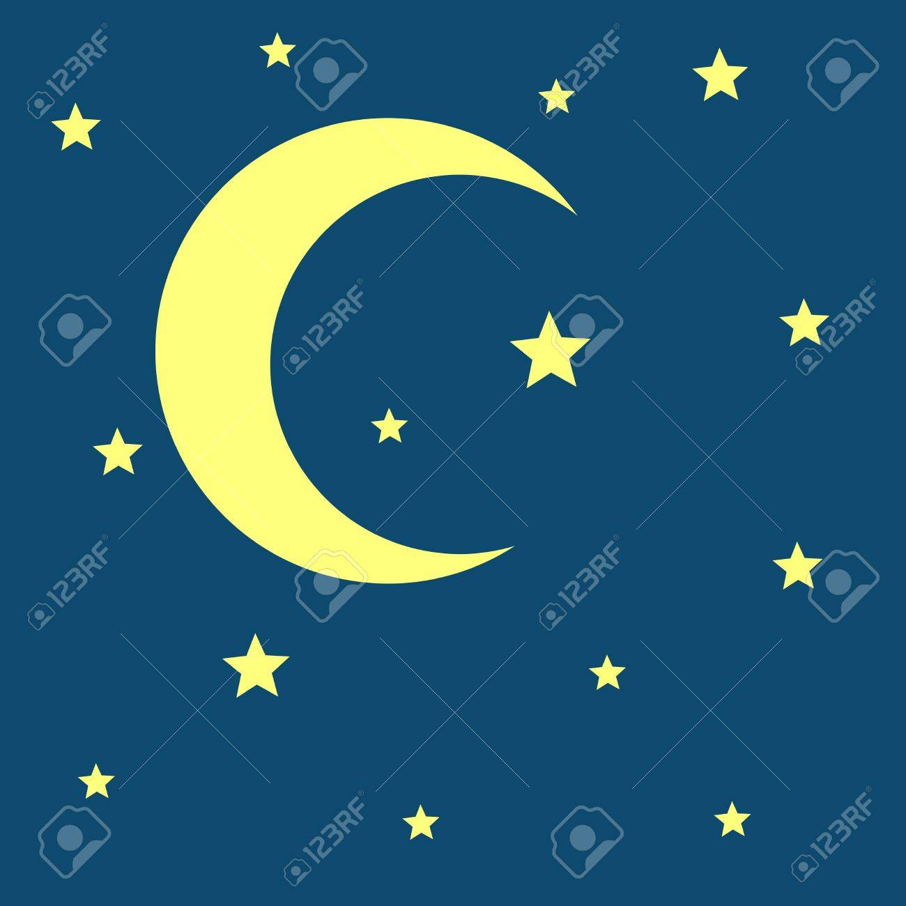 Vector crescent moon and stars night icon nature moonlight vector crescent moon and stars night icon nature moonlight illustration stock illustration 69605026 biocorpaavc Gallery