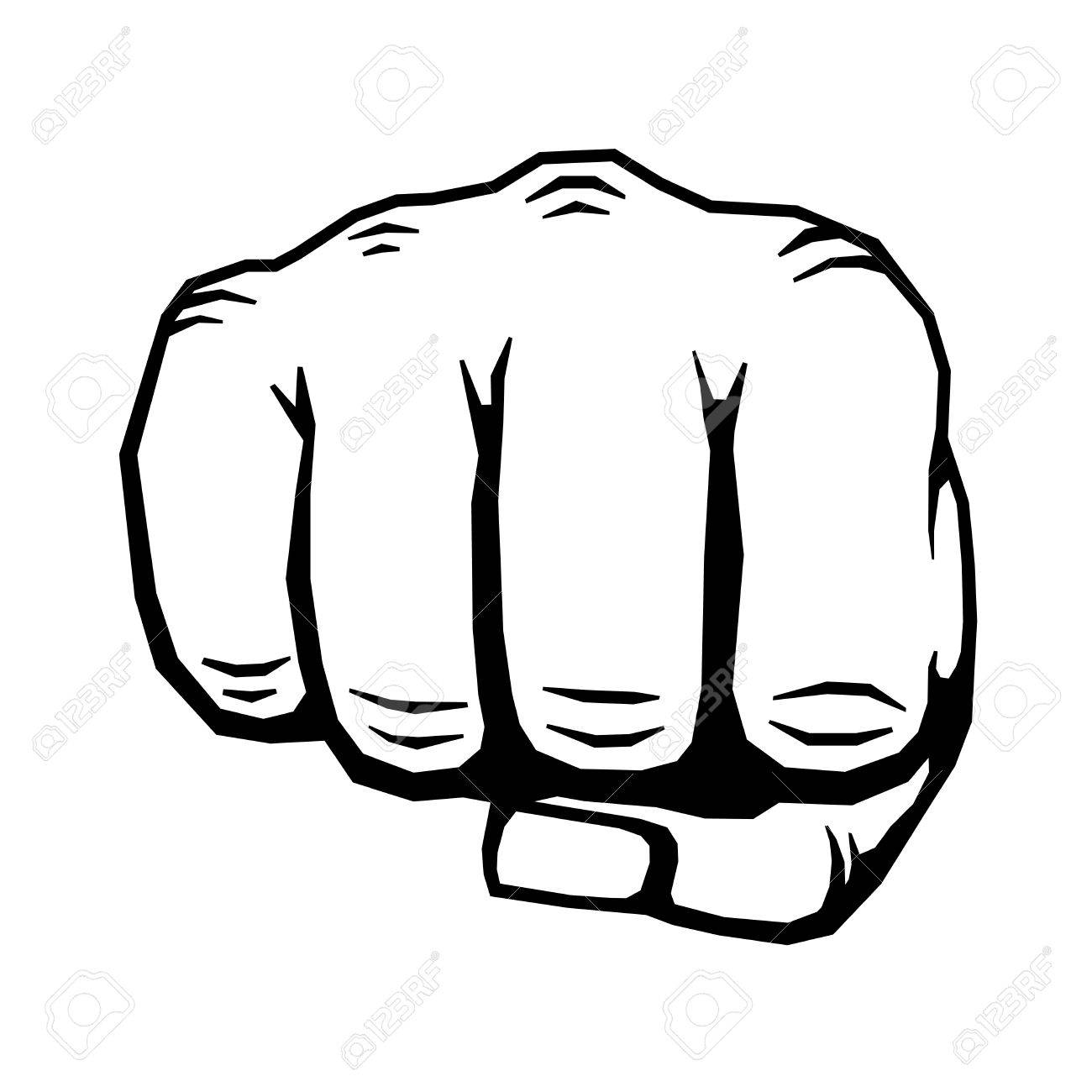 punching hand with clenched fist vector human clenched fist rh 123rf com first victoria national bank fist vector free