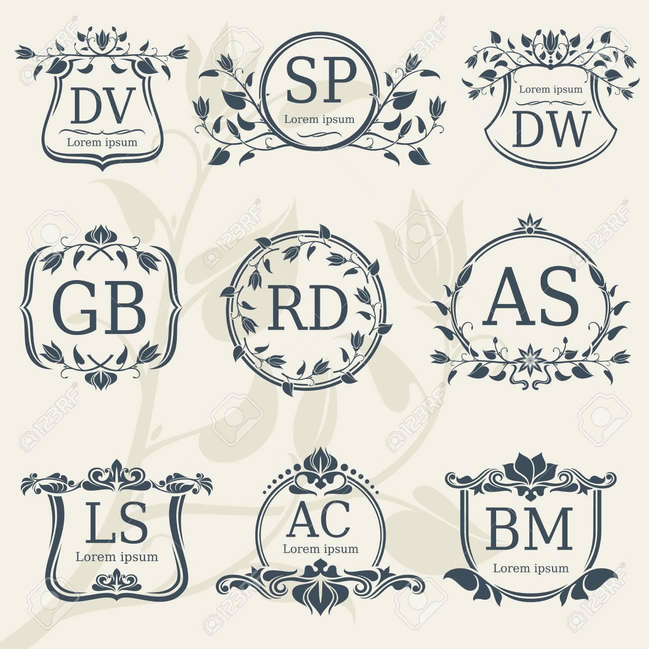 Enchanting Logo Frame Vector Composition - Ideas de Marcos ...