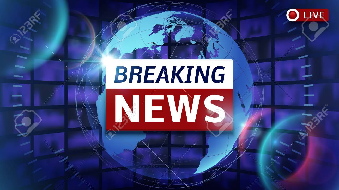 Breaking news broadcast vector futuristic background with world breaking news broadcast vector futuristic background with world map news broadcast and breaking news live gumiabroncs Image collections