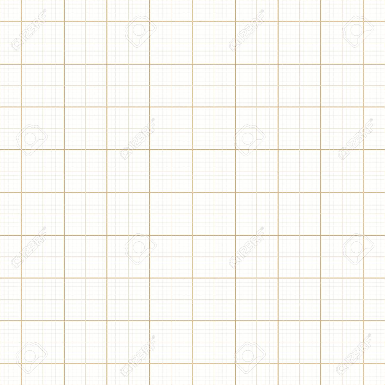 yellow architect graph paper repeat vector grid page graph