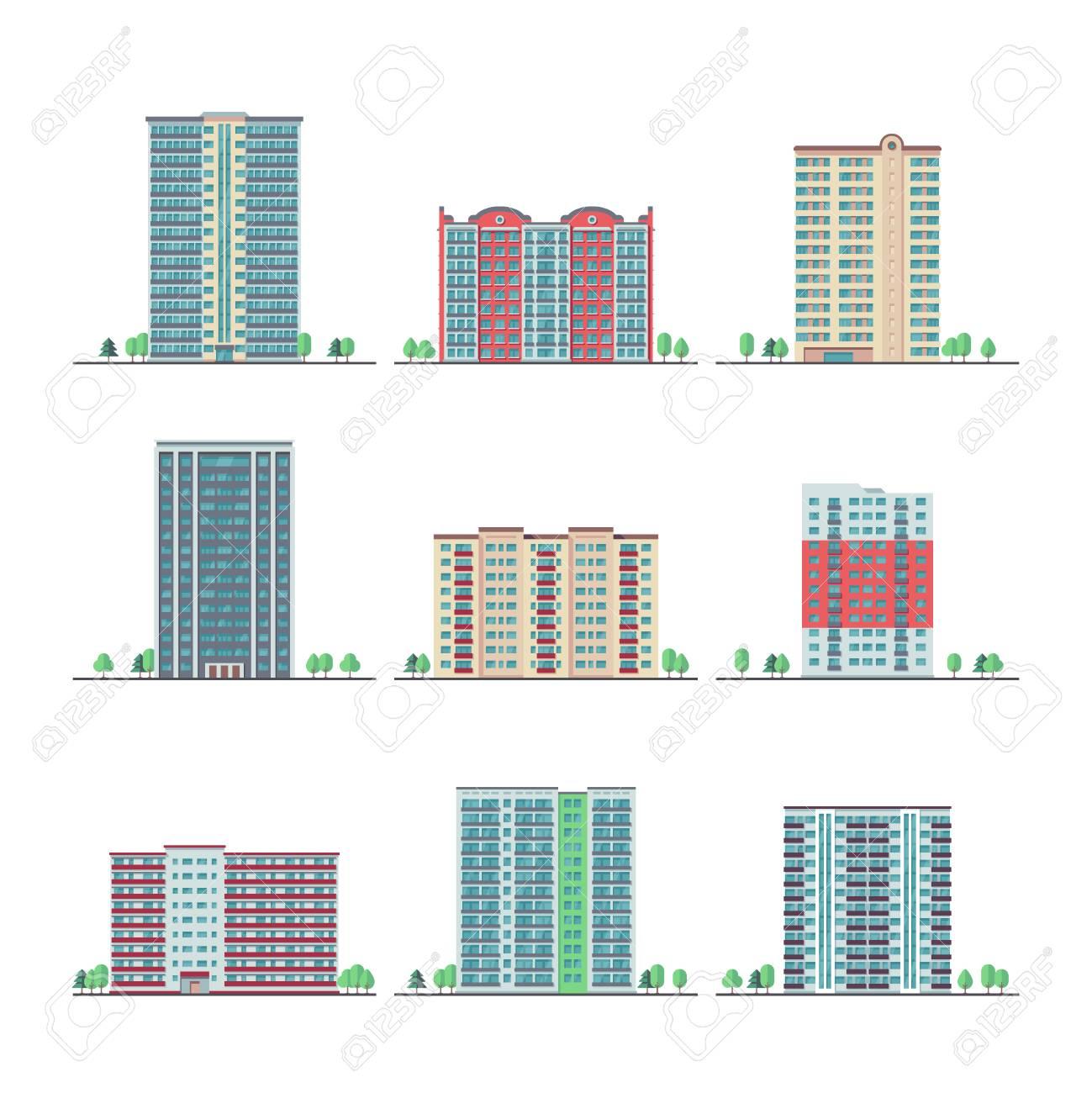 Apartment Complex Clipart Apartment House - Apartment Building Clipart -  Png Download (#88292) - PinClipart