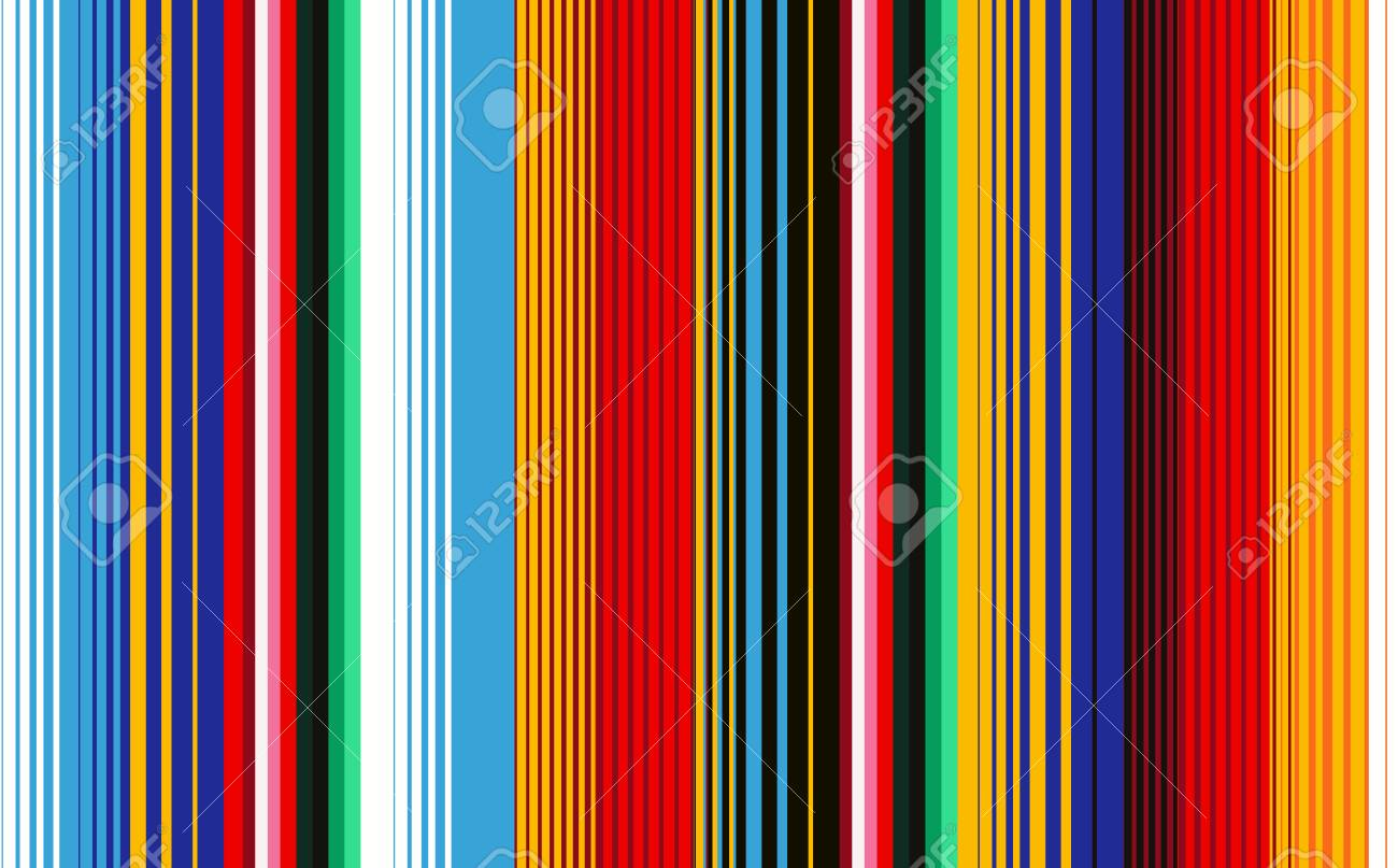 seamless pattern with colorful stripes for fabric and wallpaper
