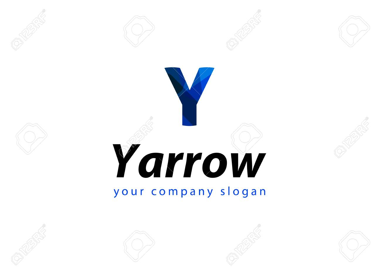 Letter Y Template For Your Company Royalty Free Cliparts Vectors