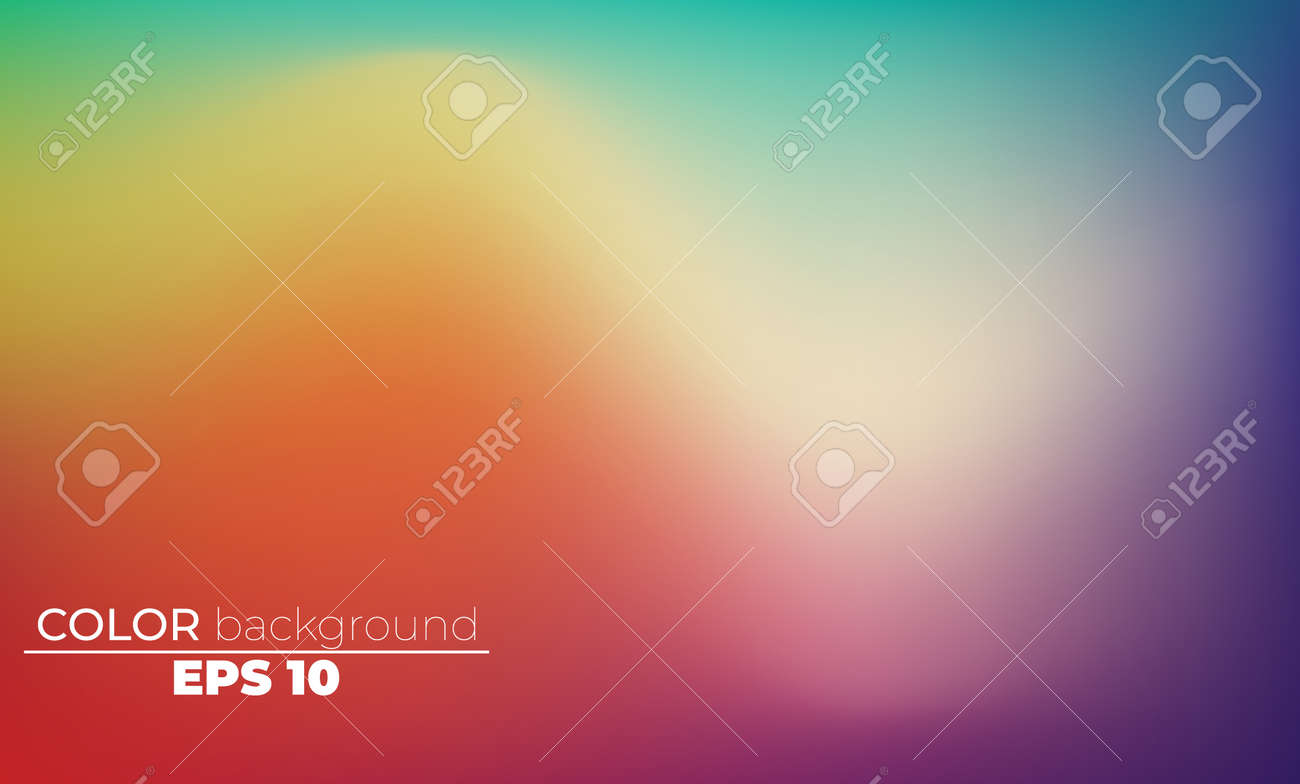Abstract blurred gradient mesh background in bright Colorful smooth. Easy editable soft colored vector illustration, Suitable For Wallpaper, Banner, Background, Card, Book Illustration, landing page - 156451432