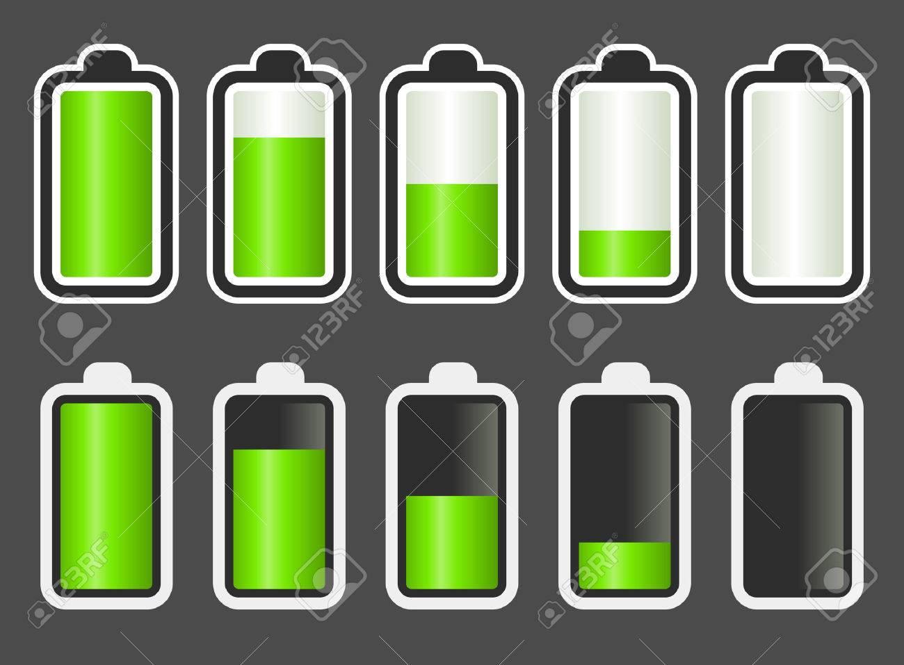 量 表示 残 バッテリー
