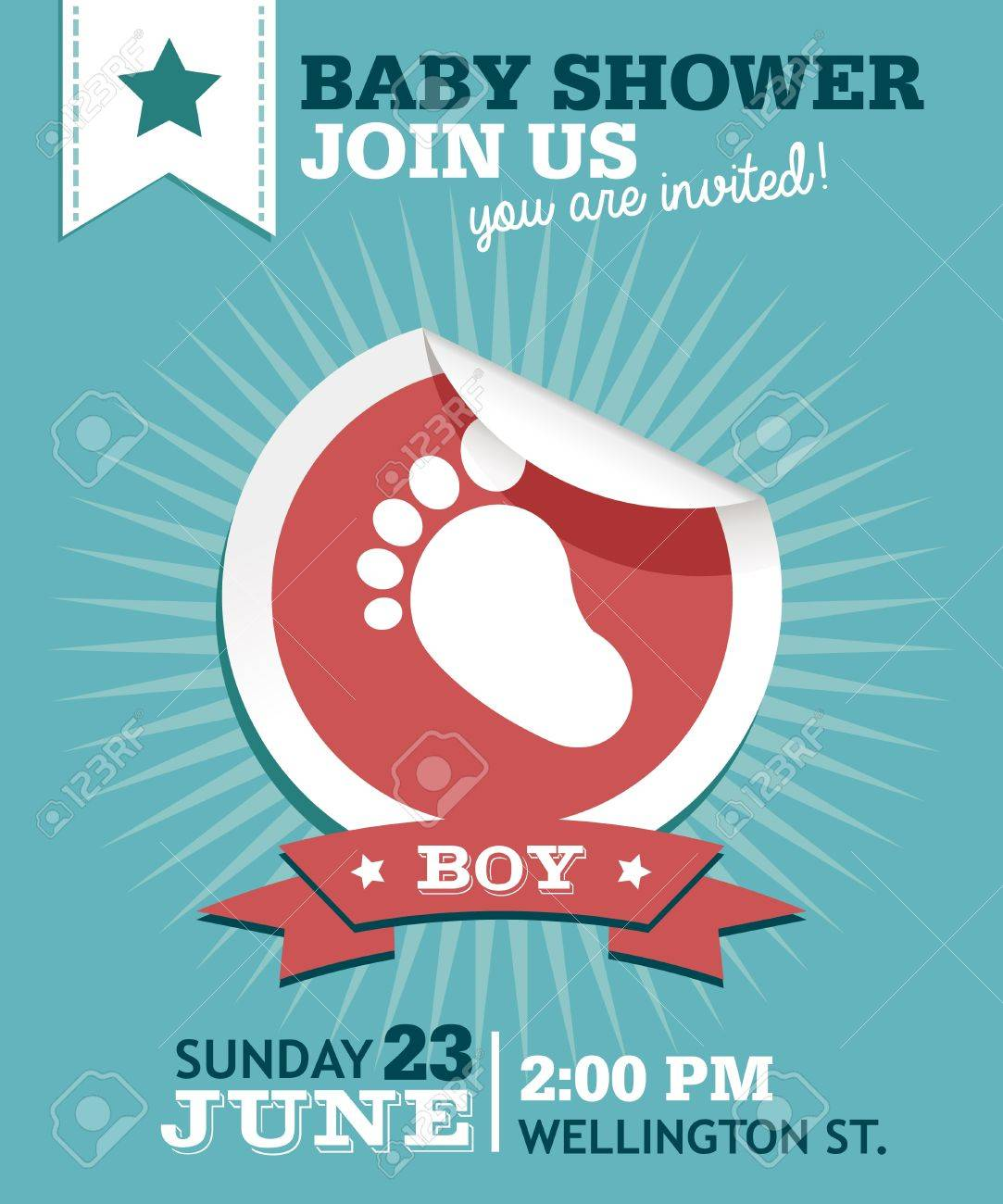 Exelent Baby Shower Invitation Greetings Photo - Invitations and ...