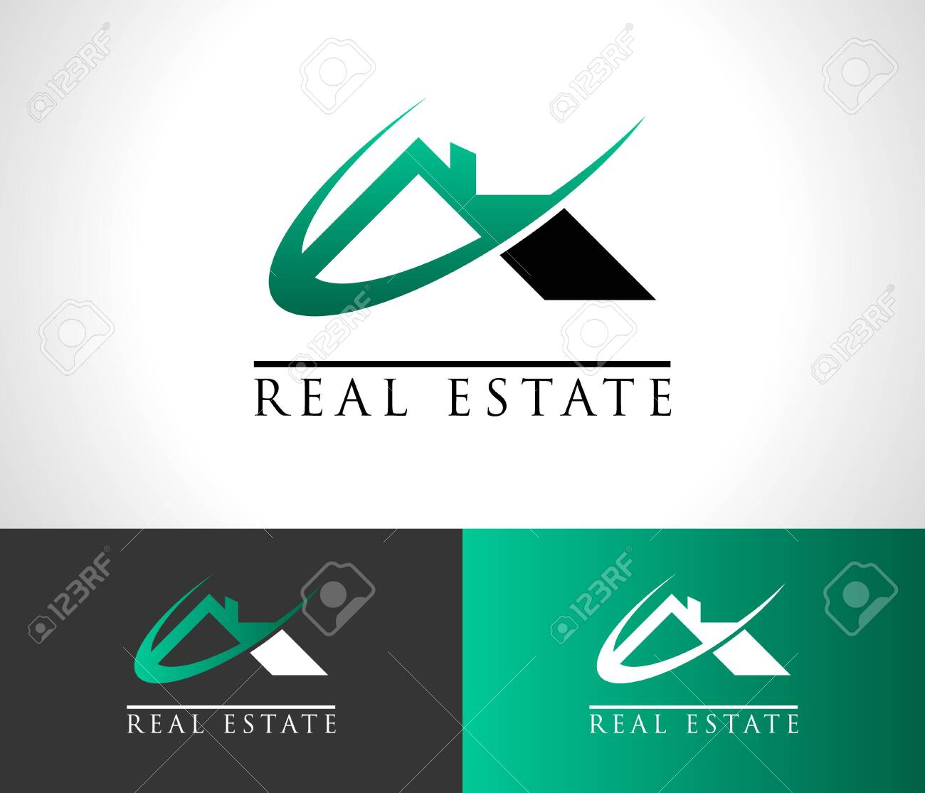 Real Estate House Roof Icon - 135689242