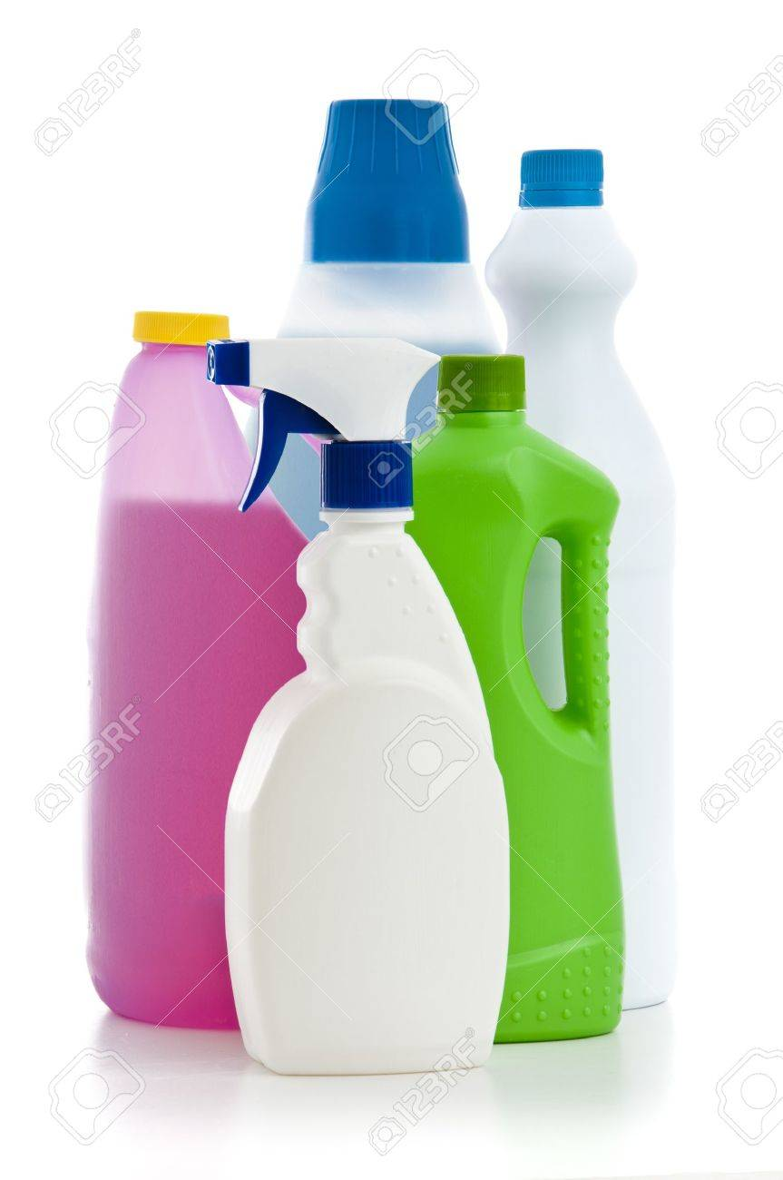 House Cleaning Chemicals Stock Photo - 13532326