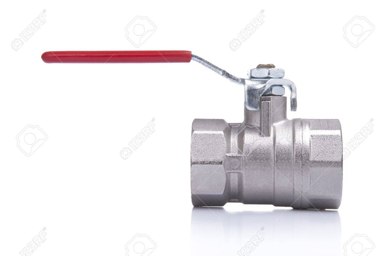 Faucet on White Stock Photo - 14036879