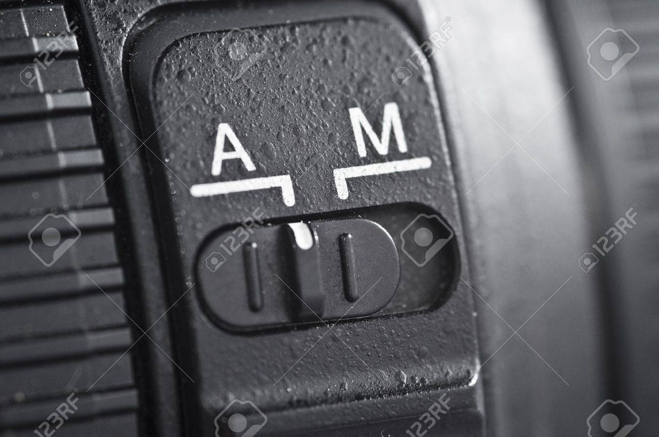 Automatic vs Manual Stock Photo - 14889483