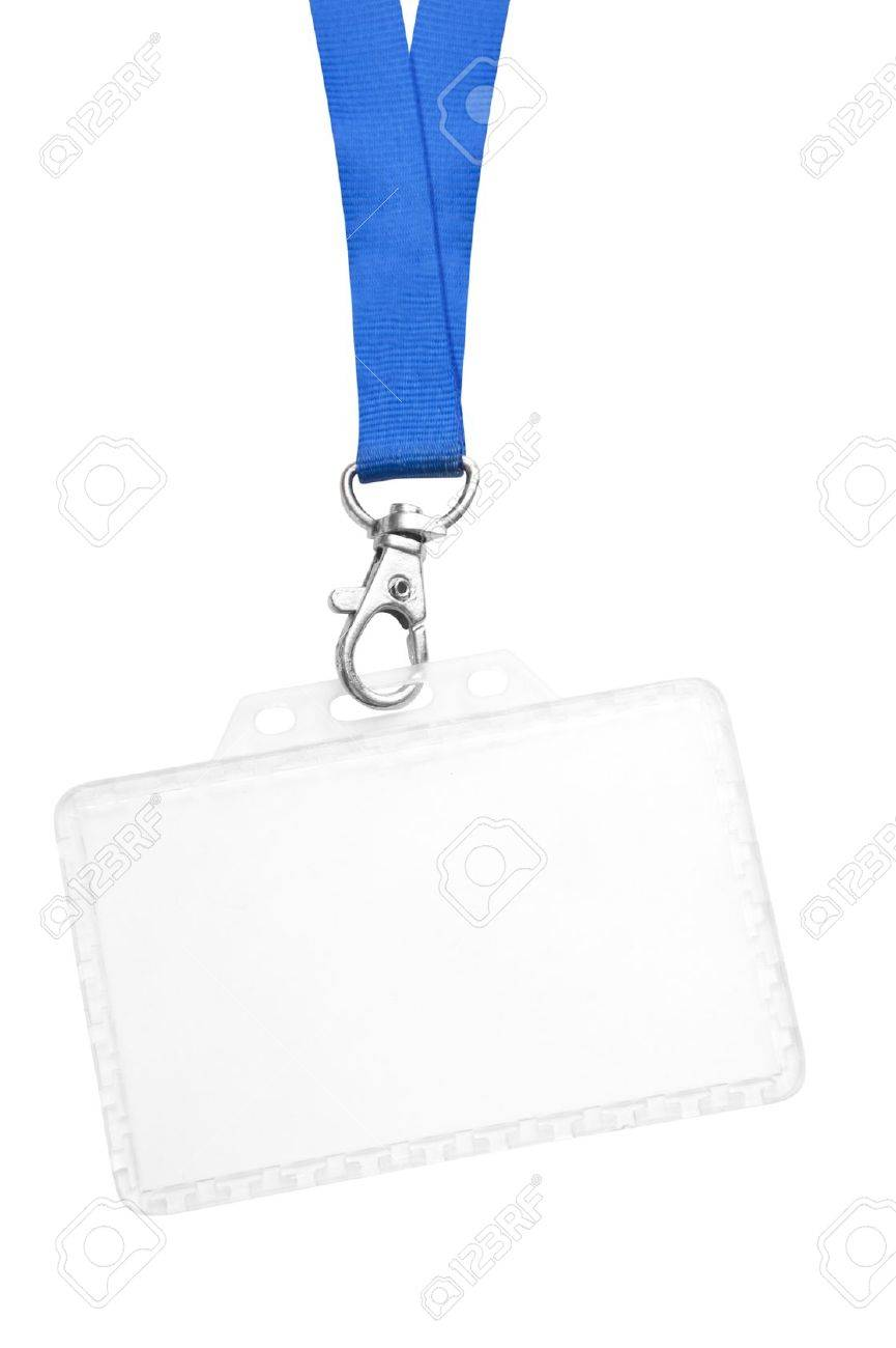 blank id badge stock photo picture and royalty free image image