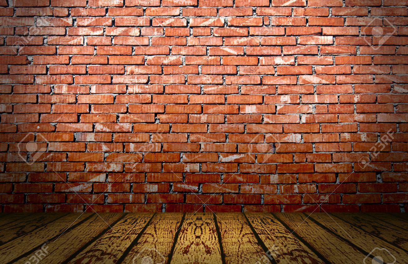 Abstract Red Bricks Wall Stage Stock Photo, Picture And Royalty ...