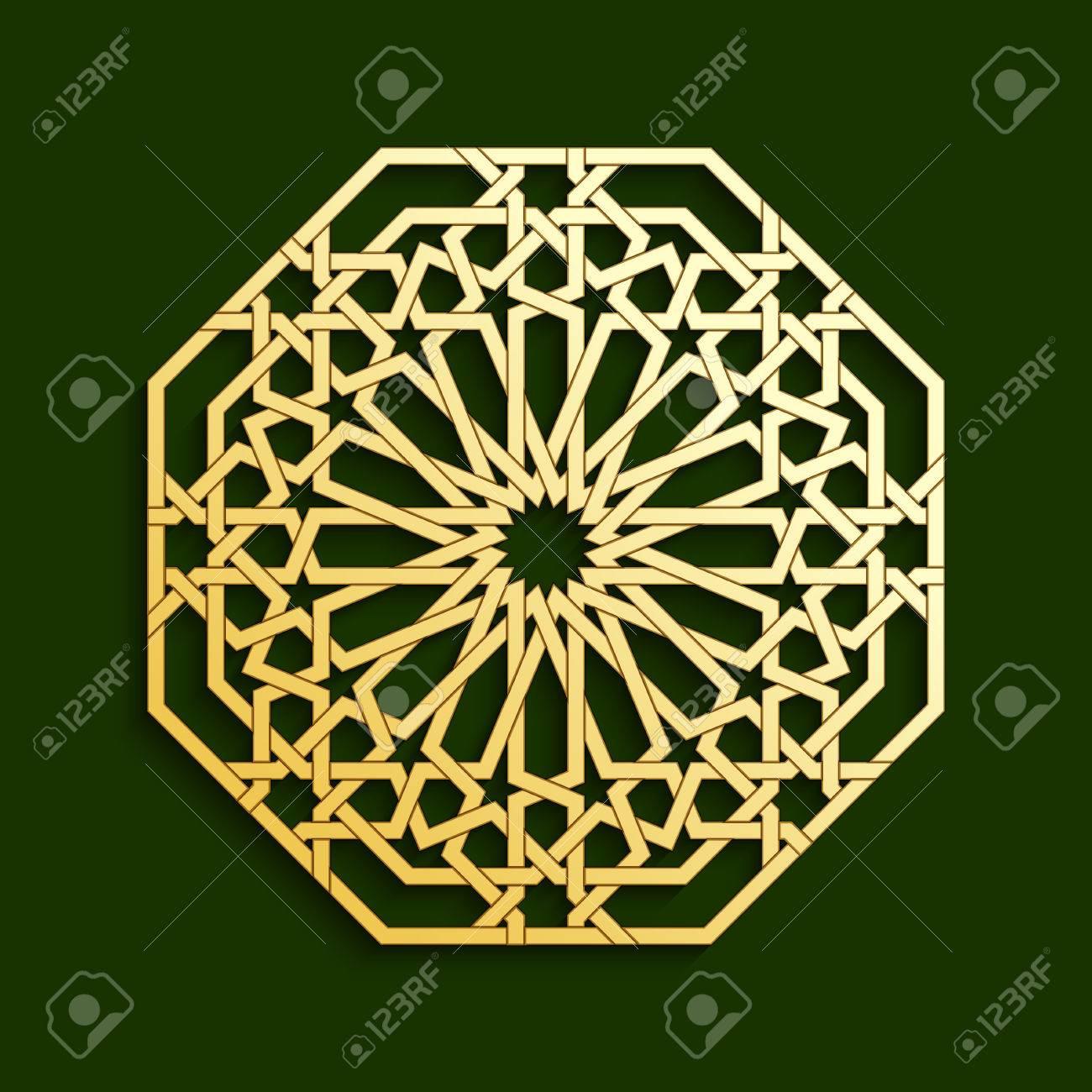 Islamic golden geometric pattern vector muslim mosaic persian islamic golden geometric pattern vector muslim mosaic persian motif oriental ornaments traditional stopboris Choice Image