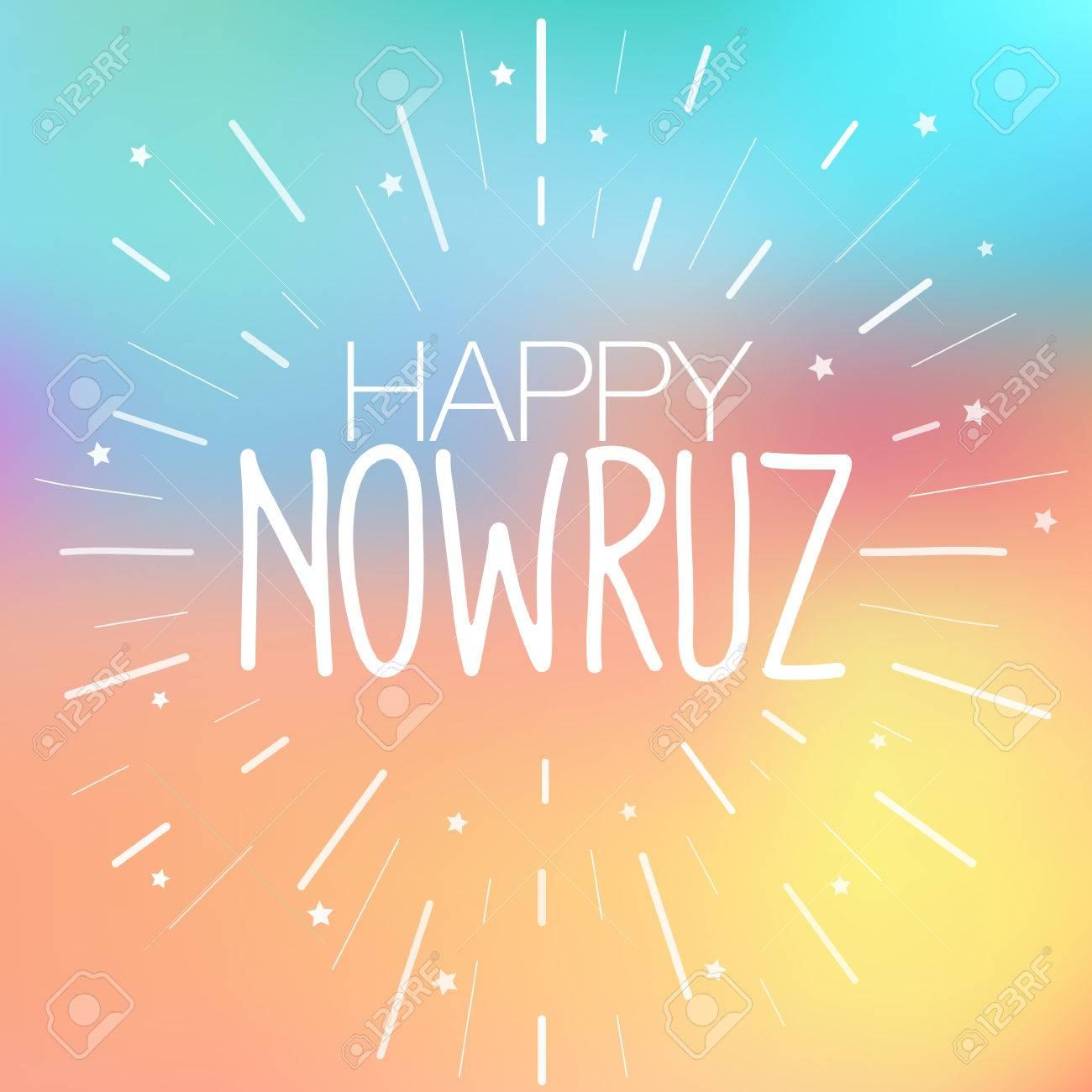 Happy nowruz greeting card iranian persian new year march happy nowruz greeting card iranian persian new year march equinox colorful vector m4hsunfo