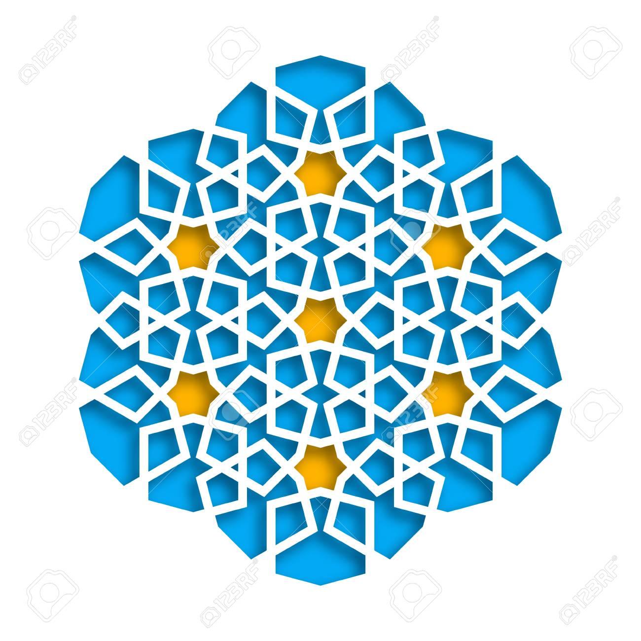 islamic geometric pattern vector 3d muslim mosaic persian motif rh 123rf com islamic vector psd islamic vector eps