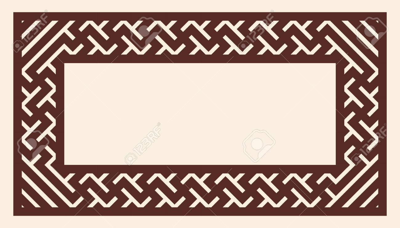 Vector greek ornament greek style frame ornament brown pattern vector greek ornament greek style frame ornament brown pattern on a beige background jeuxipadfo Gallery