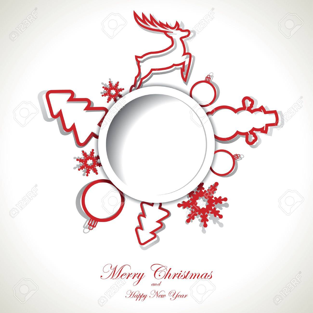 Christmas background with text place Stock Vector - 16212979