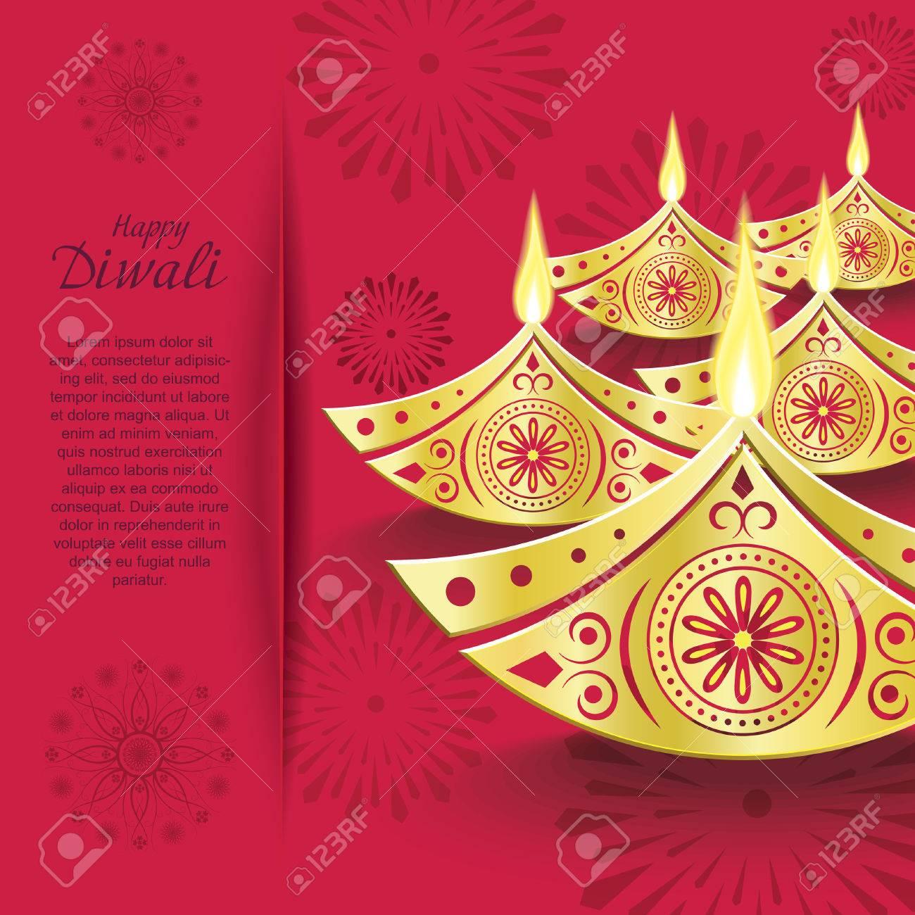 Creative vector design of burning diwali diya for greeting card creative vector design of burning diwali diya for greeting card stock vector 42045073 m4hsunfo