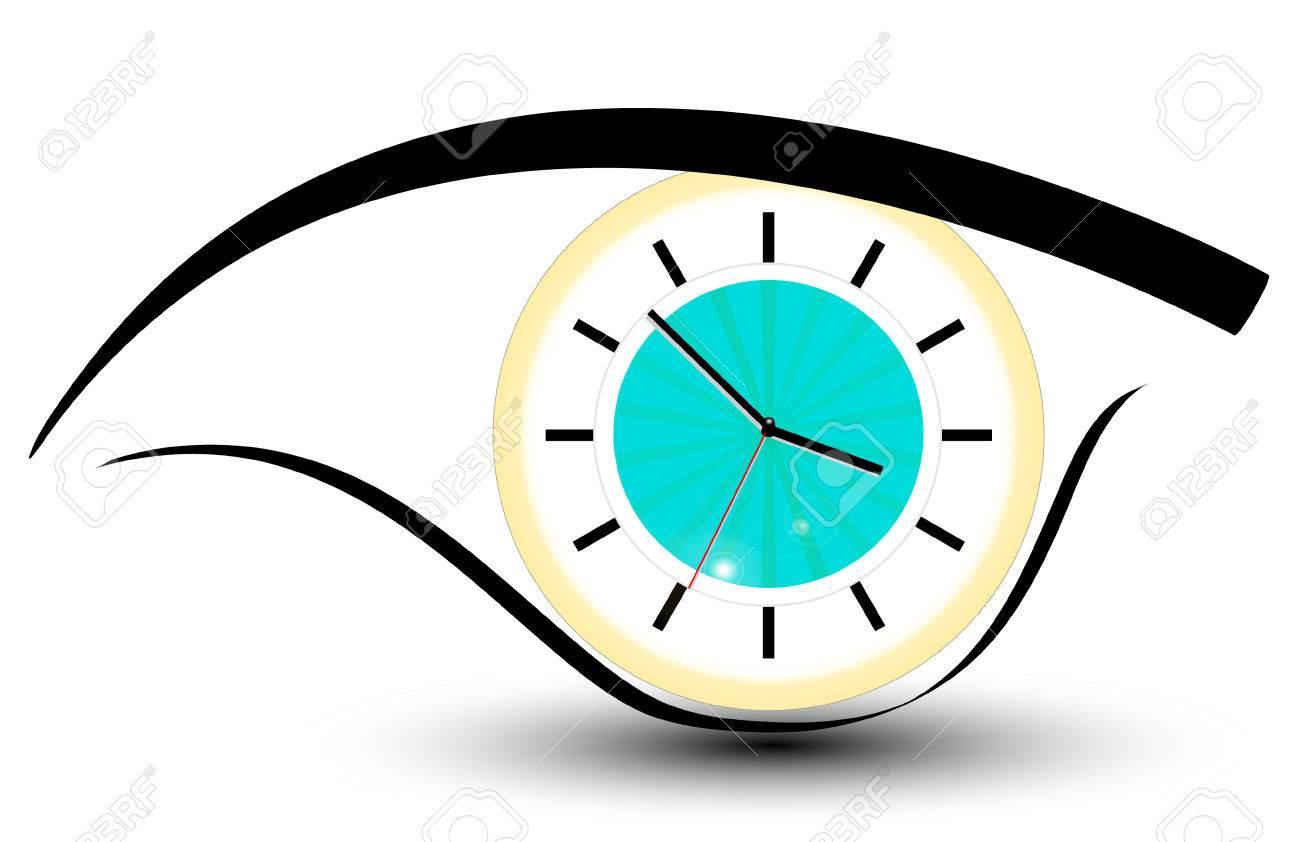clock eye - 8069317