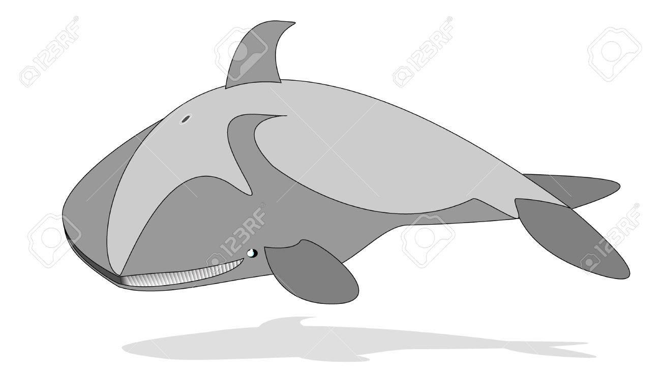 cartoon whale Stock Vector - 8323788
