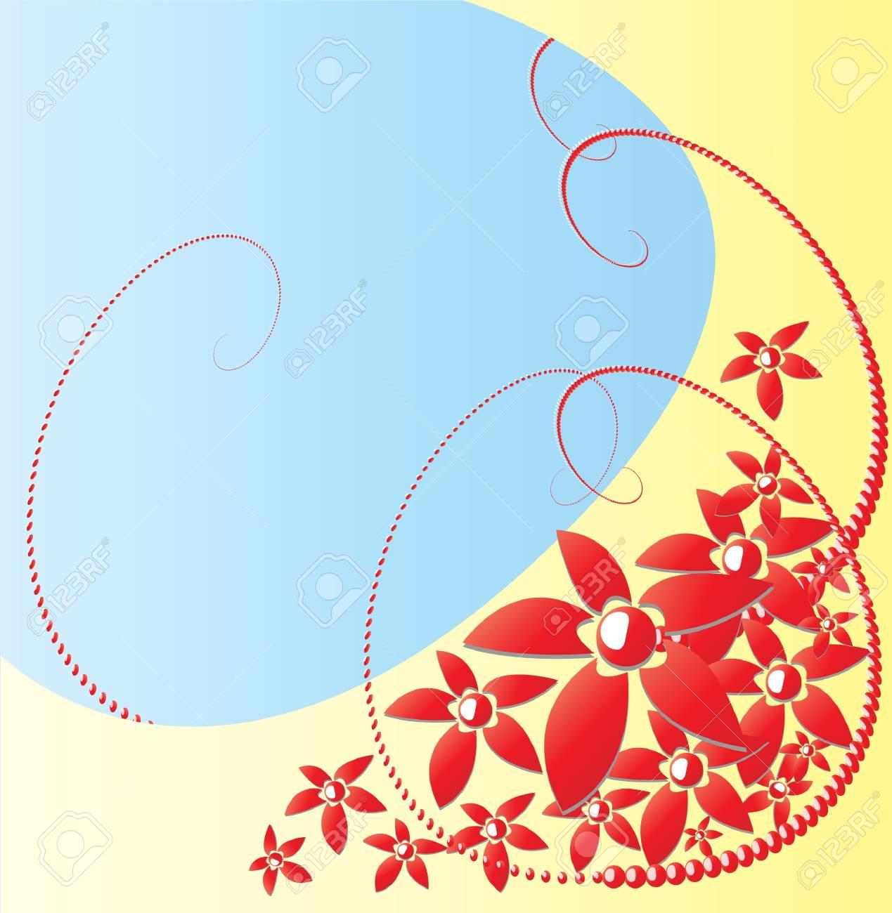 flower background Stock Vector - 9023061