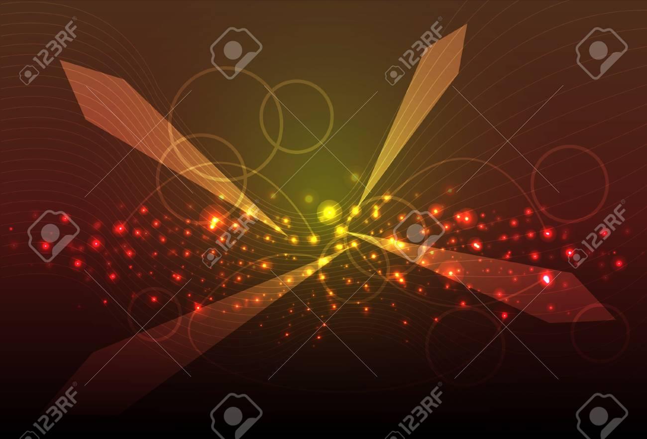 Galaxy. Vector abstract background Stock Vector - 11838265