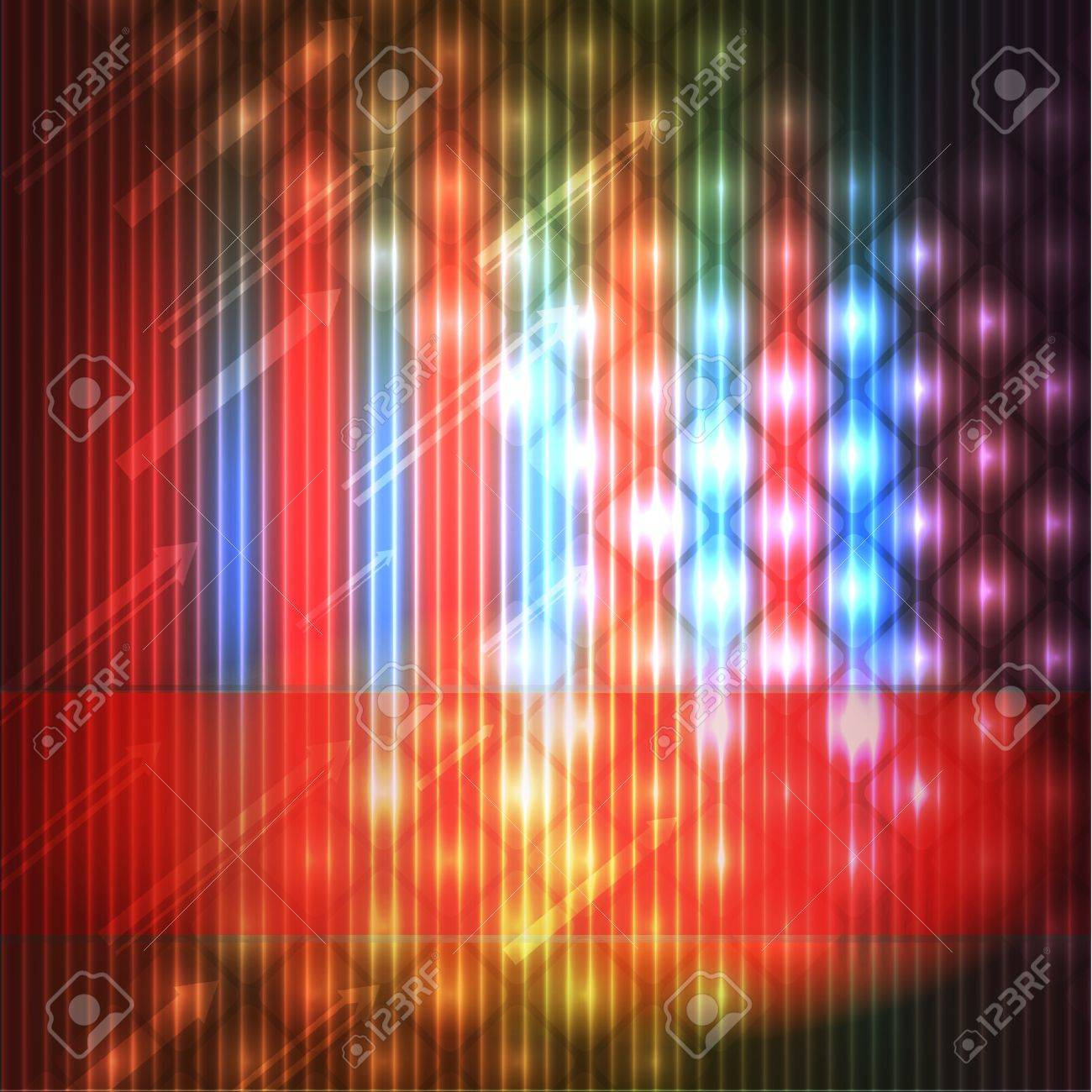 colorful disco background Stock Vector - 11831094