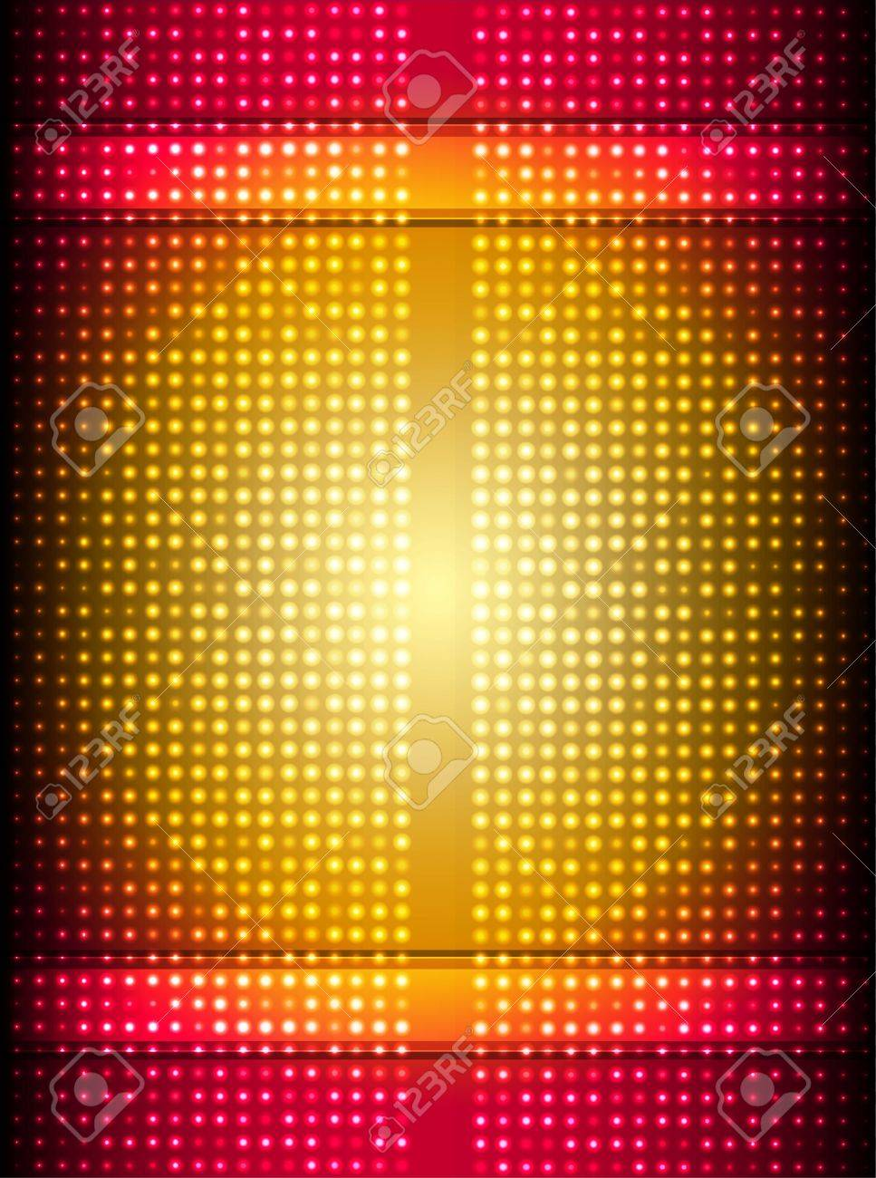 abstract red and gold background - 12185007