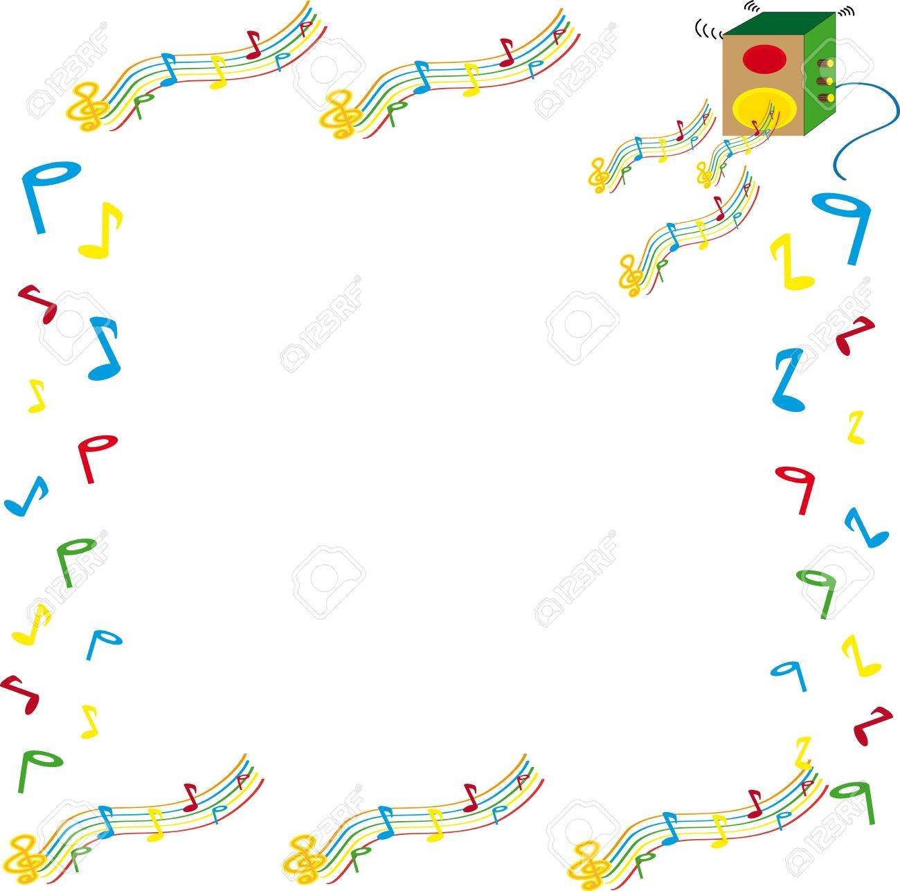 Music melody Stock Photo - 9864565