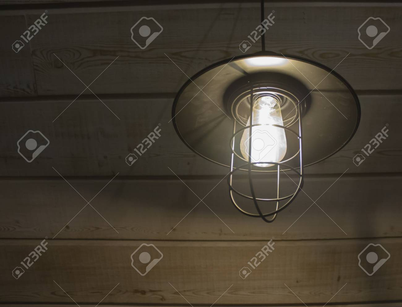 Old Fashioned Vintage Lantern Lamp Burning With A Soft Glow Light Stock Photo Picture And Royalty Free Image Image 70401918