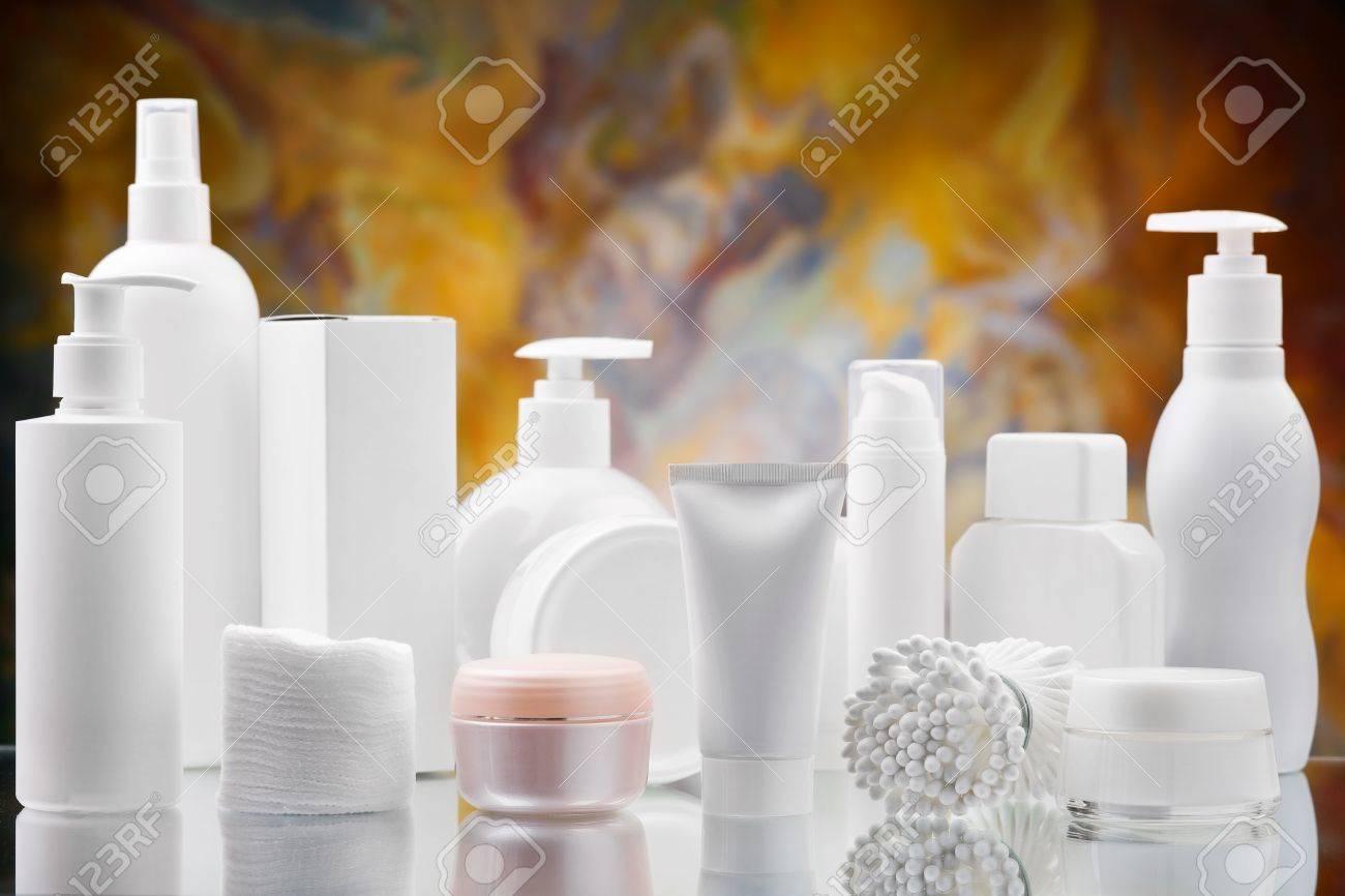 big set of skincare items Stock Photo - 11503405