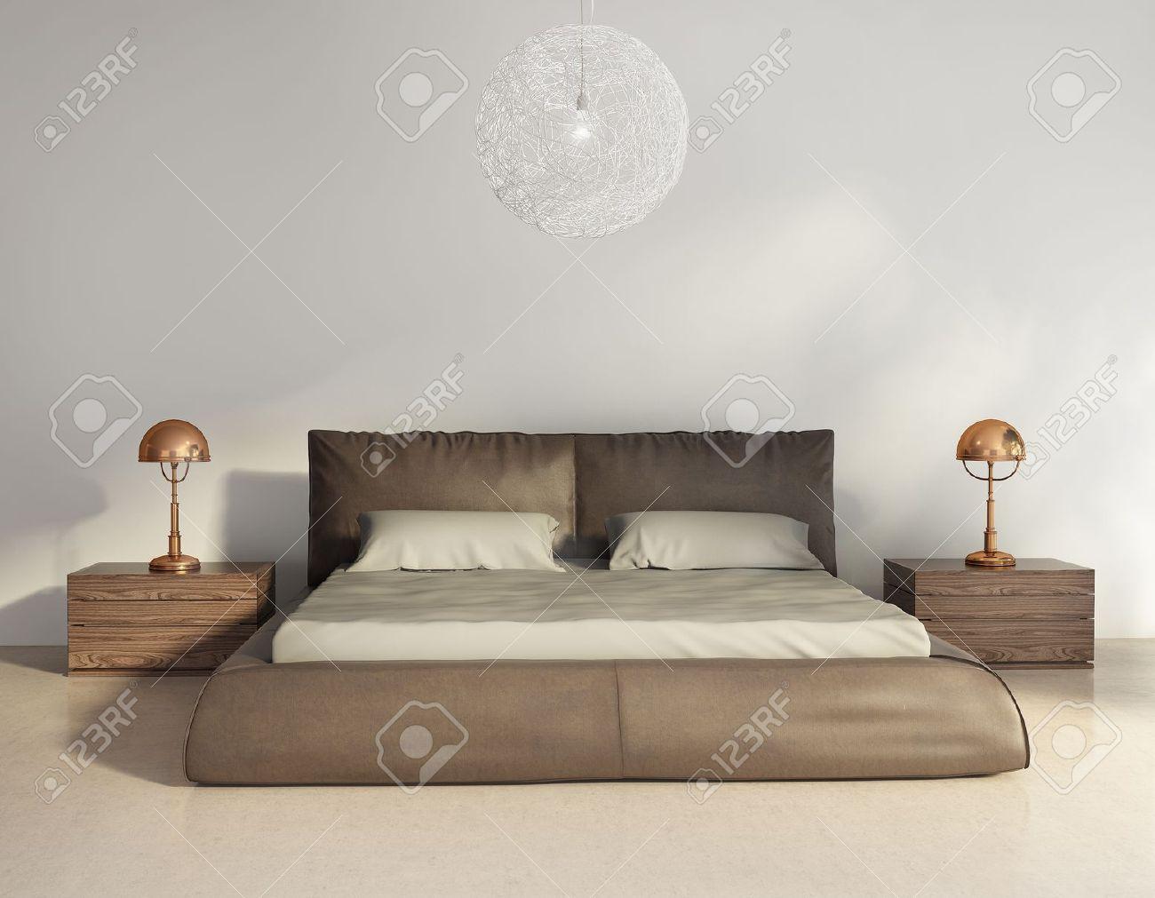 Moderne Slaapkamer Royalty-Vrije Foto's, Plaatjes, Beelden En ...