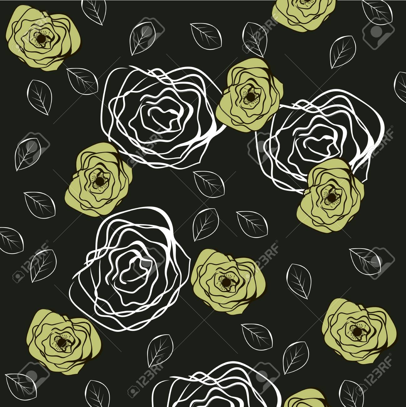 Floral pattern Stock Vector - 18422705