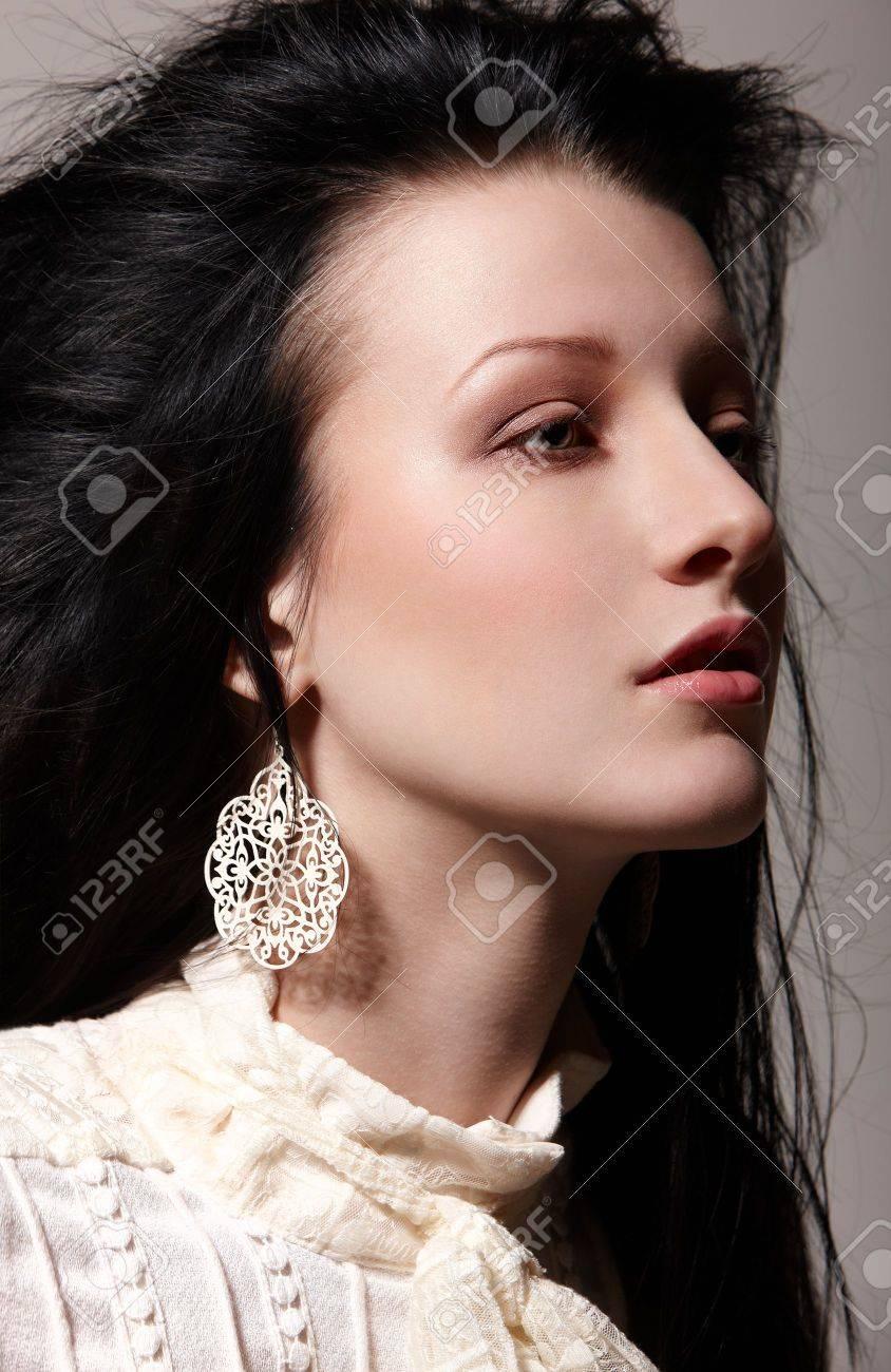 Drama portrait of beautiful girl Stock Photo - 6433703