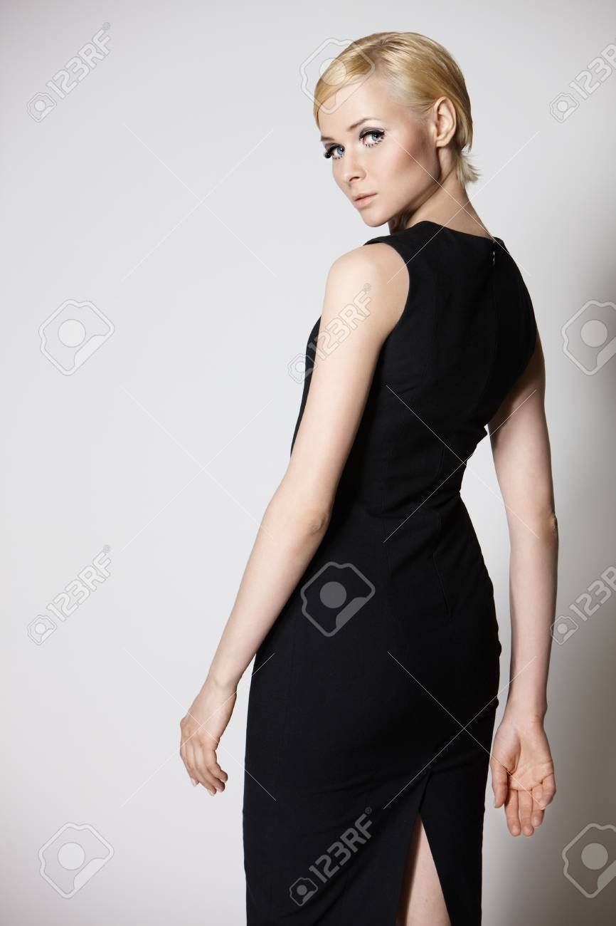 Young beautiful girl posing in studio Stock Photo - 9430833