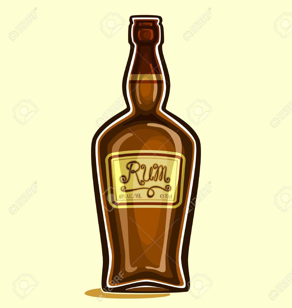 Rum in the bottle - 33694895