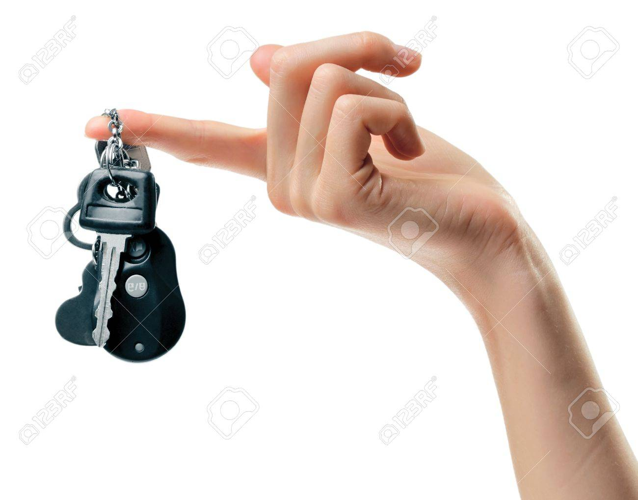 Hand with automobile's keys Stock Photo - 7469974