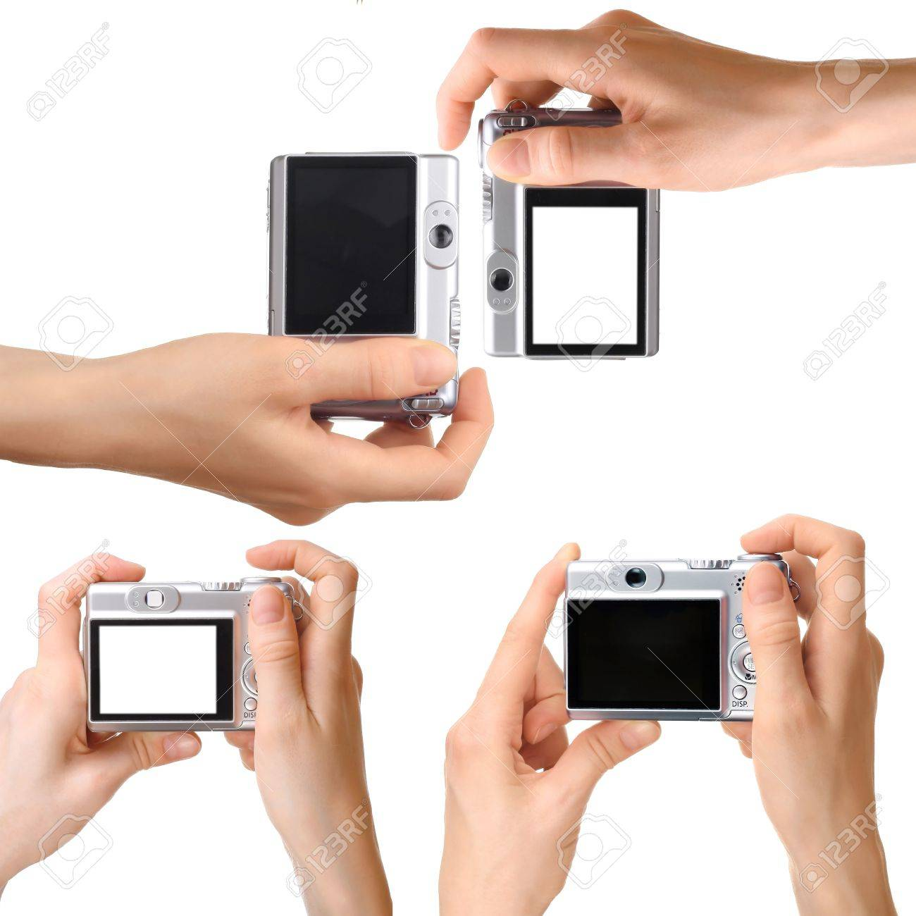 Camera in hand Stock Photo - 7584954