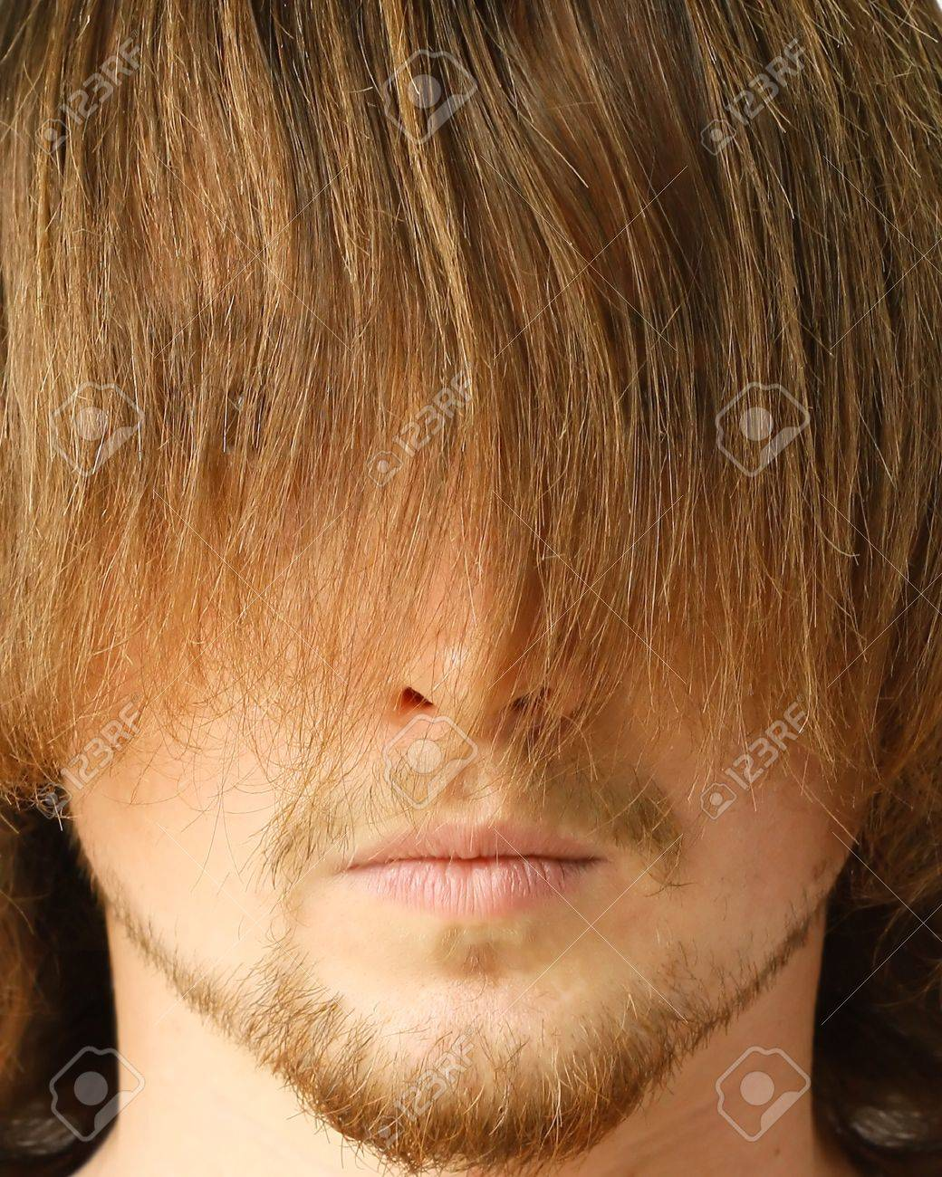 Guy with long fringe Stock Photo - 7582864