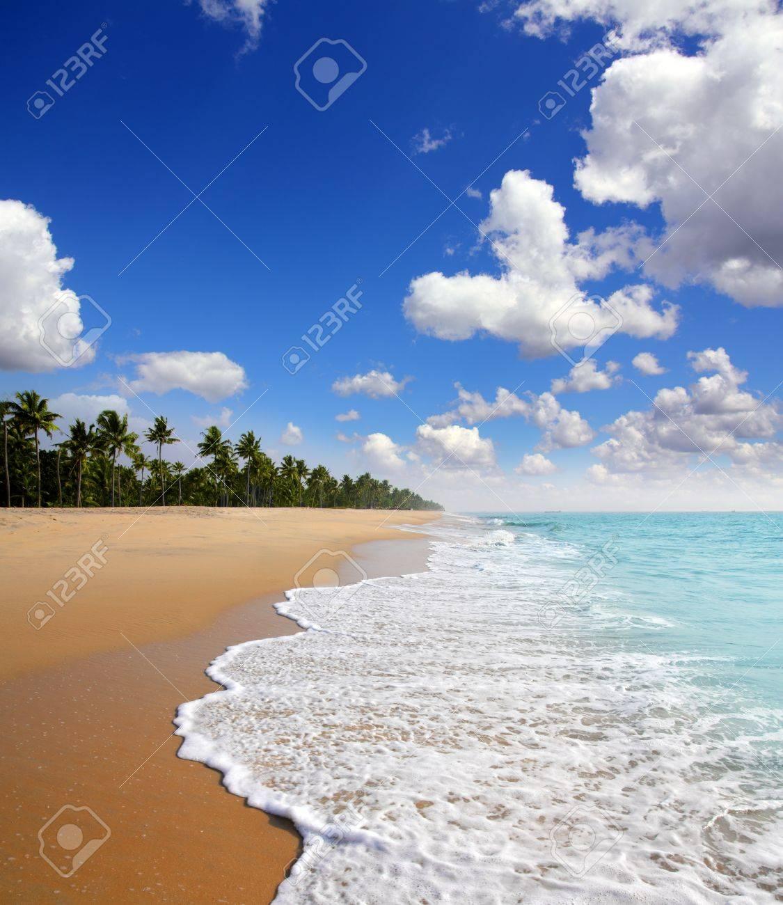 beautiful beach landscape - ocean in India - 18494752