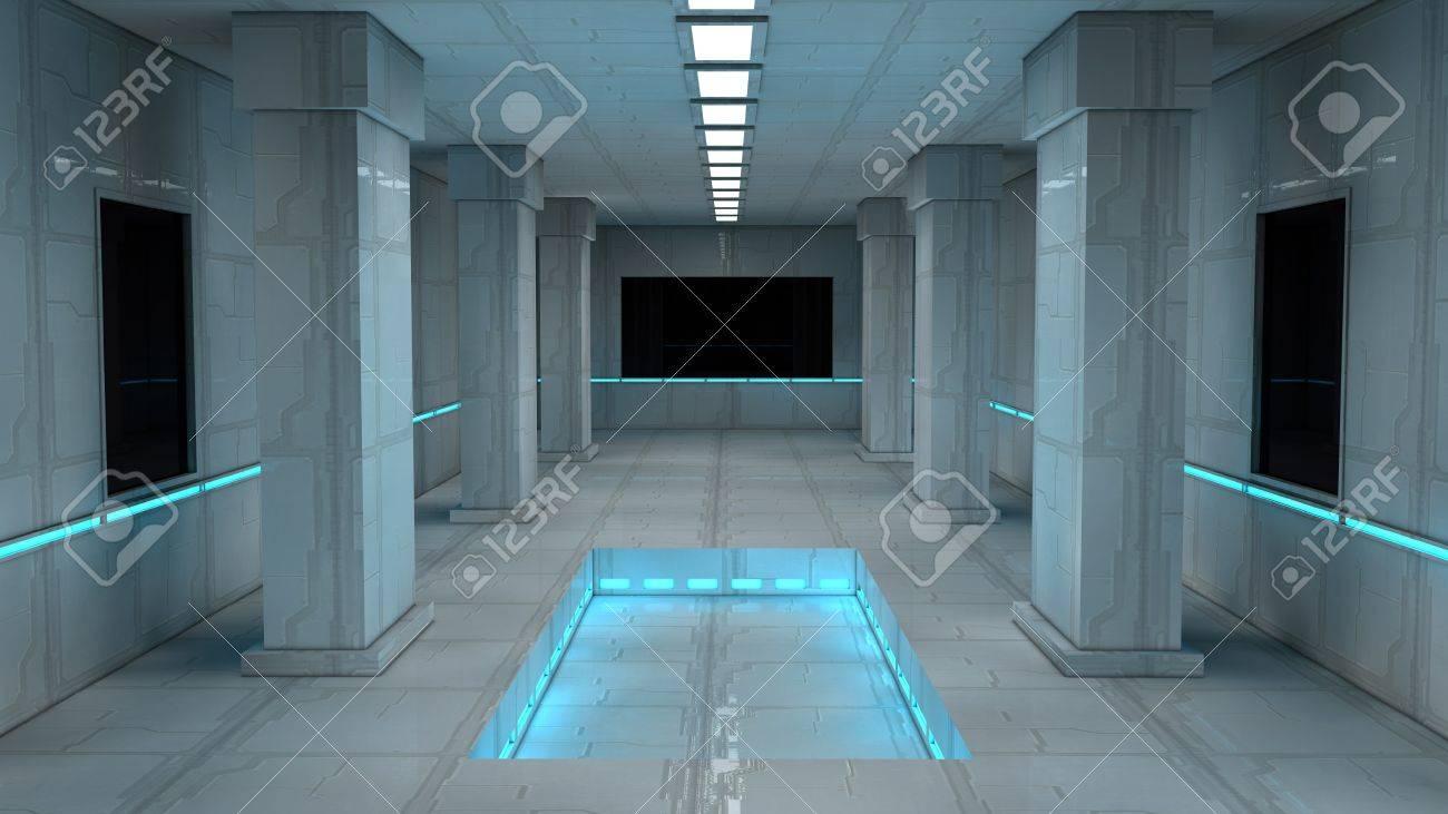 Scifi design interior - 17806012