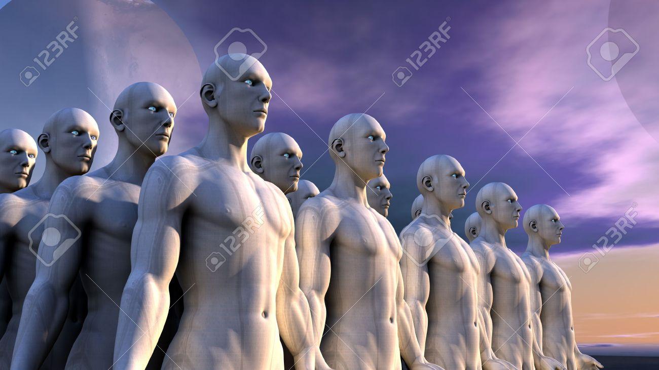 Humanoids Stock Photo - 18300856