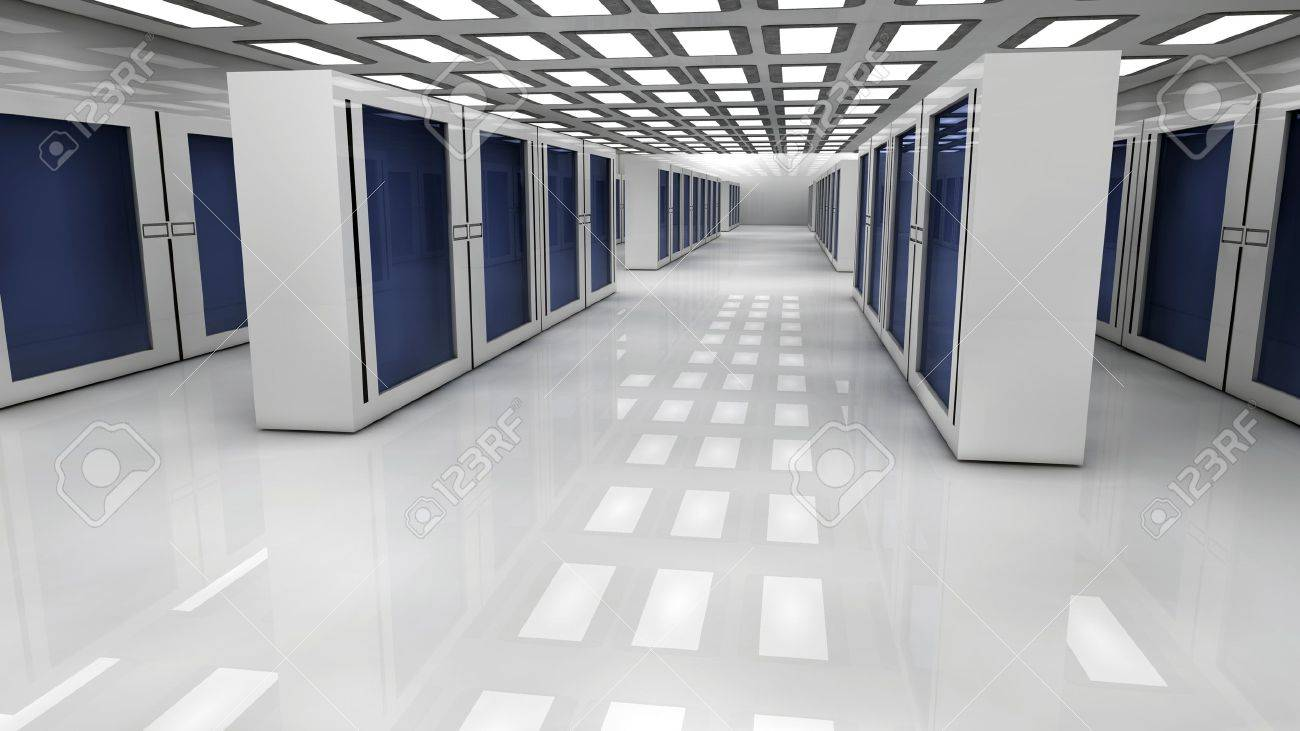 Render farm Stock Photo - 18269839