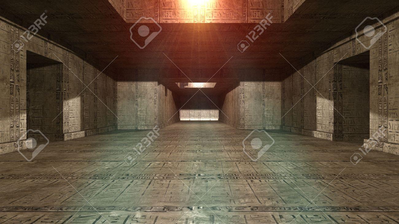 banque dimages intrieur de la pyramide futuriste