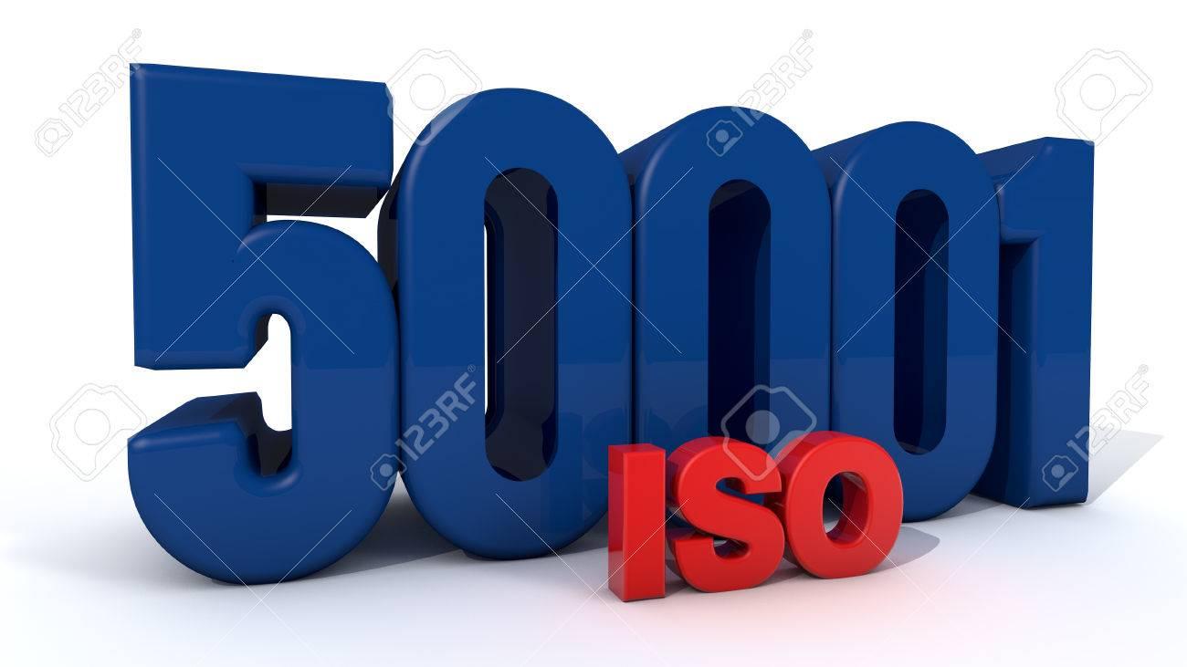 ISO 50001 Stock Photo - 27426309