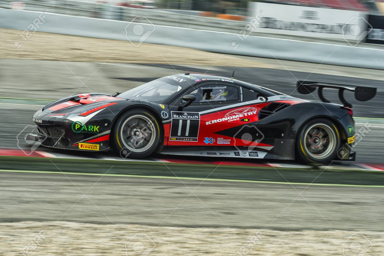 Ferrari 458 Gt3 Blancpain Gt Series Championship At Circuit
